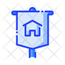 Banner Home Banner House Banner Icon