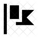 Banner Flag Fluttering Icon