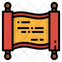 Banner Cultures Decorations Icon