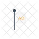 Ad Banner Poster Icon