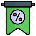 Banner Discount Sale Icon