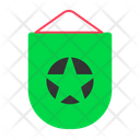Banner Football Soccer Icon