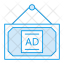 Banner Frame Board Icon