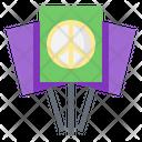 Banner Activist Peace Icon