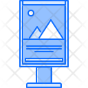 City Poster Banner Icon