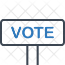 Banner Plate Vote Icon