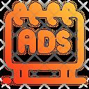 Banner Ads Icon