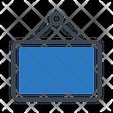 Banner Board Frame Icon