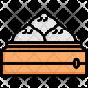 Baozi Chinese Cultures Icon