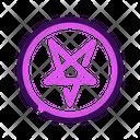 Baphomet Symbol Halloween Icon