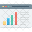 Bar Chart Online Icon