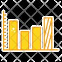 Bar Business Diagram Icon