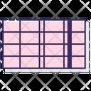 Bar Chart Midi Icon