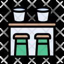 Bar Chair Seat Icon