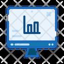 Website Bar Graph Icon