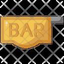 Bar Signage Pub Icon