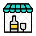Bar Wine Shop Icon