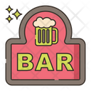 Bar Drink Table Icon