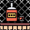 Bar Whiskey Bottle Icon
