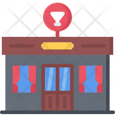 Bar Building Window Icon