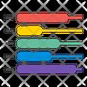 Bar Chart Diagram Presentation Icon
