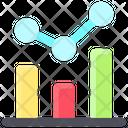 Business Finance Bar Chart Analysis Icon
