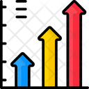 Arrow Chart Icon