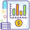 Bar Chart Bar Graph Financial Chart Icon
