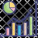 Analytics Bar Chart Data Visualization Icon