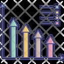 Analytics Bar Chart Business Growth Icon