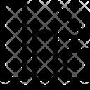 Bar Chart Decrease Loss Icon