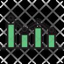 Bar Chart Analysis Business Analysis Icon