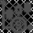 Bar Chart Bitcoin Chart Bitcoin Graph Icon