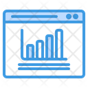Bar Chart Growth Report Icon