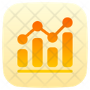 Bar Chart Growth Chart Benchmark Icon