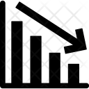 Bar Chart Decreasing Icon