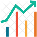 Bar Chart Increasing Icon