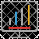 Bar Chart Internet Icon