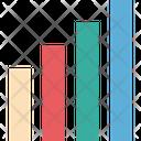 Bar Chart Bar Graph Signal Bars Icon