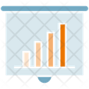 Bar Chart Projector Chart Icon