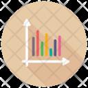 Histogram Business Infographics Icon