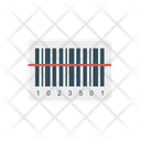 Bar Code Scanner Label Icon