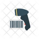 Bar Code Scanner Shopping Icon