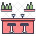 Bar Counter Drink Icon