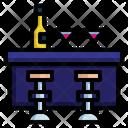 Bar Counter Pub Restaurant Icon