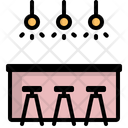 Counter Bar Drink Icon