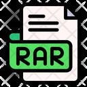 Bar File Type File Format Icon
