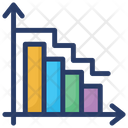 Finance Graph Statistical Data Business Report Icon