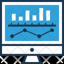 Bar Graph Market Icon