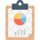 Bar Graph Clipboard Graph Paper Icon